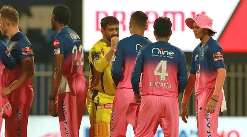 Rajasthan Royals Has a Savage Response to Chennai Super Kings Troll After a 16-Run Win Over MS Dhoni's Yellow Army in Dream11 IPL 2020