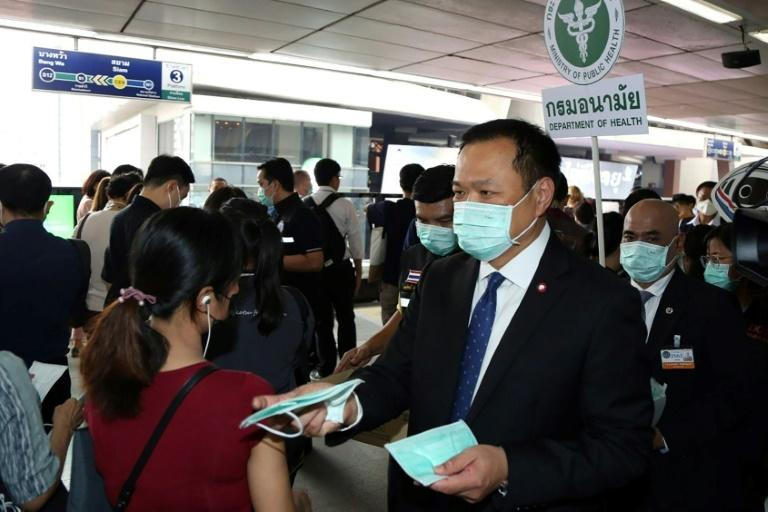 Thailand sees benefit from using drug mixture on coronavirus