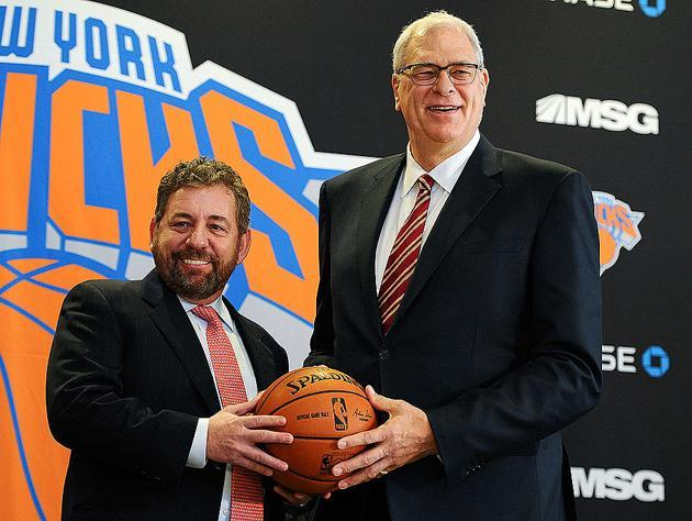 "The <a class=""link rapid-noclick-resp"" href=""/nba/teams/nyk/"" data-ylk=""slk:New York Knicks"">New York Knicks</a>. (Getty Images)"