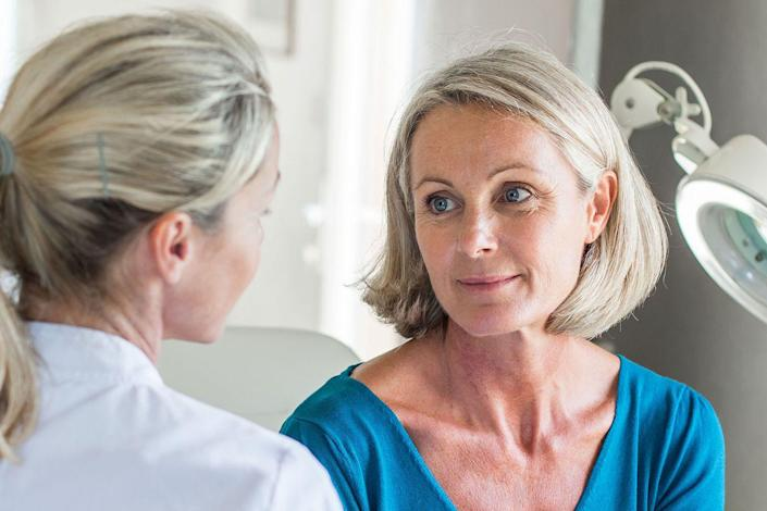"<p>Studies show that naturally experiencing it later can mean an increased life span. One reason: ""Women who go through menopause late have a much lower risk of heart disease,"" says Mary Jane Minkin, MD, clinical professor of obstetrics and gynecology at Yale University School of Medicine.</p><p><strong>RELATED</strong>: <a href=""https://www.goodhousekeeping.com/health/wellness/a33236955/how-menopause-changes-your-body/"" rel=""nofollow noopener"" target=""_blank"" data-ylk=""slk:How Menopause Changes Your Body in Your 30s, 40s, 50s, 60s and Beyond"" class=""link rapid-noclick-resp"">How Menopause Changes Your Body in Your 30s, 40s, 50s, 60s and Beyond</a></p>"