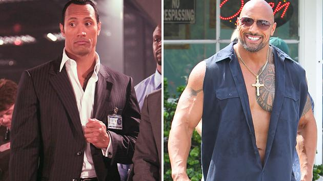 The Rock Pain And Gain Before After