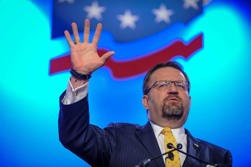 "Self-described ""alpha male"" Sebastian Gorka will be joining Fox News. (Mary F. Calvert/Reuters)"