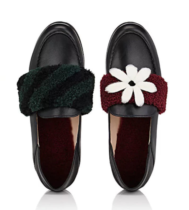 Mismatched Fendi Shoes
