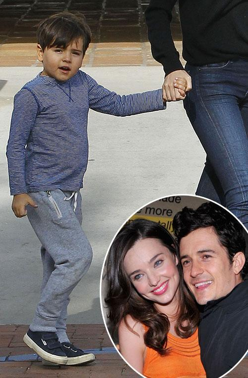Little Flynn, 6, is an adorable combo of his parents Miranda Kerr and Orlando Bloom.
