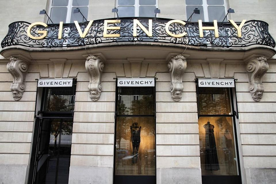 """""""Paris, France - July 21, 2011: Givenchy company headquarters and store on July 21, 2011 in Paris, France. Givenchy is a luxury brand owned by French conglomerate LVMH with .32bn EUR revenue for 2010."""""""