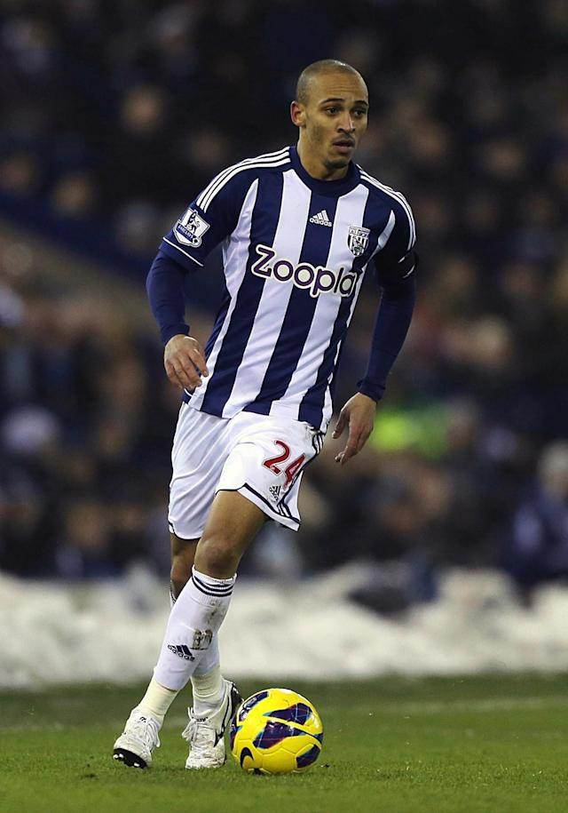 File photo dated 19/01/2013 of West Bromwich's Peter Odemwingie.