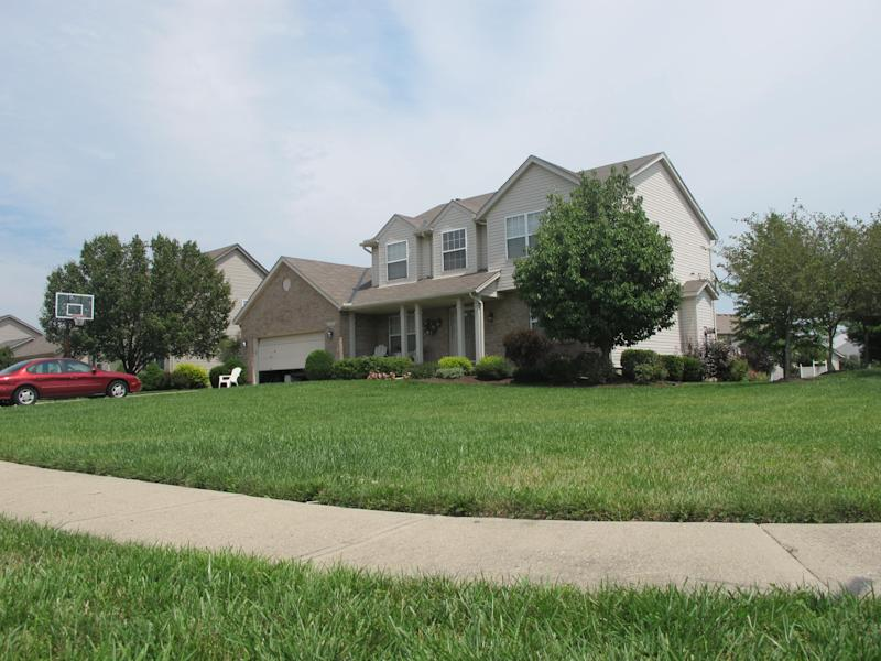 This Tuesday, July 31, 2012 photo shows the home of 17-year-old Tyler Pagenstecher in Mason, Ohio. Pagenstecher pleaded guilty to drug-trafficking charges in juvenile court on Aug. 1, 2012. Police say he played a major role in a drug ring that sold as much as $20,000 worth of high-grade marijuana a month to fellow students at two high schools. He could be ordered held until he turns 21.(AP Photo/Amanda Lee Myers)