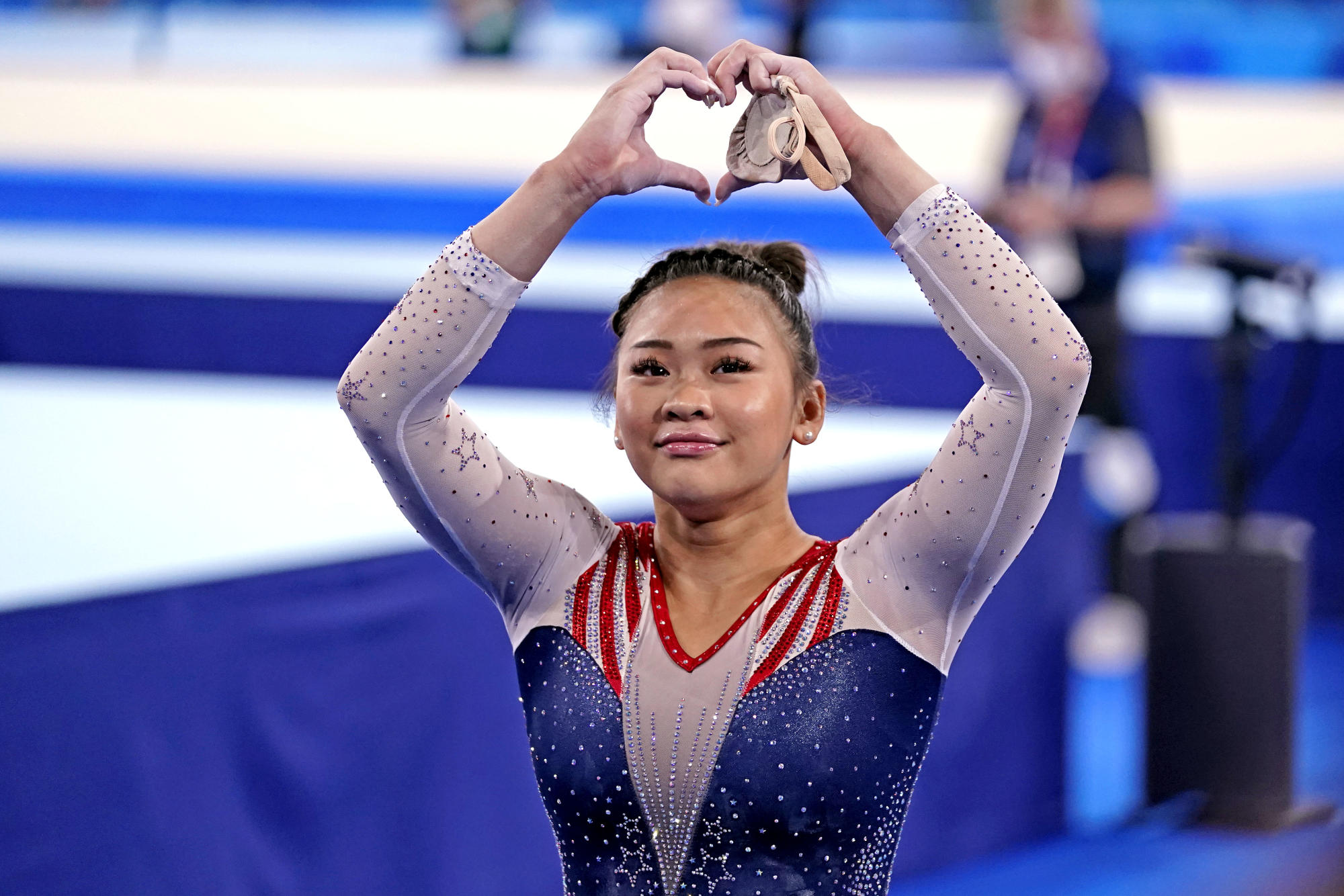 'Tears everywhere': Watch Sunisa Lee's family celebrate historic all-around Olympic gold medal