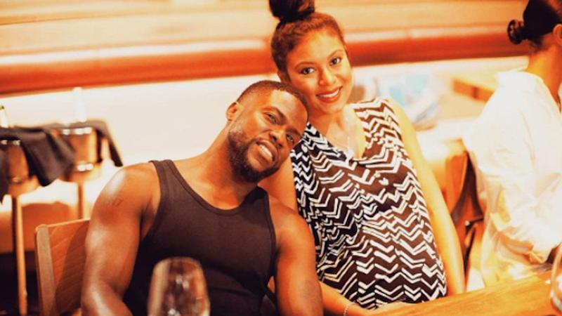 Kevin Hart isn't a father of three just yet!