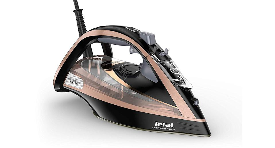 """<a href=""""https://www.amazon.co.uk/Tefal-FV9845-Ultimate-Steam-Black/dp/B07KBKTCCY?tag=yahooukedit-21"""" rel=""""nofollow noopener"""" target=""""_blank"""" data-ylk=""""slk:Buy now."""" class=""""link rapid-noclick-resp""""><strong>Buy now.</strong></a>"""