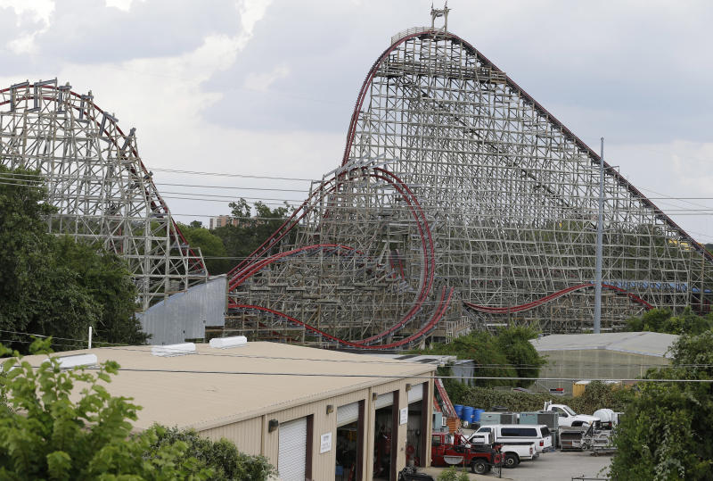 Six Flags to reopen Texas ride where woman died