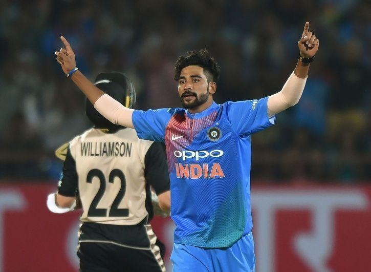 On His Debut For India, Mohammed Siraj Breaks Into Tears By The End Of National Anthem
