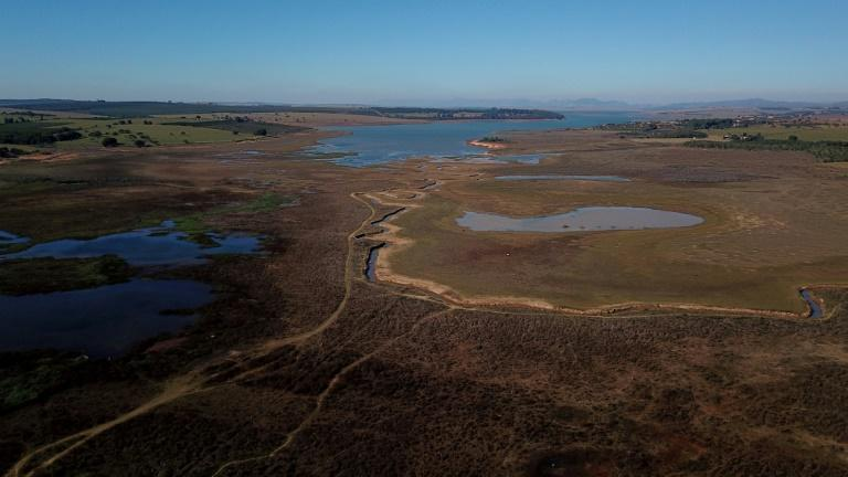 Experts say the drought in Brazil's south is caused mainly by the La Nina weather phenomenon which causes cyclical cooling of Pacific Ocean surface temperatures, while in the central-west, they point the finger at Amazon deforestation (AFP/Douglas Magno)