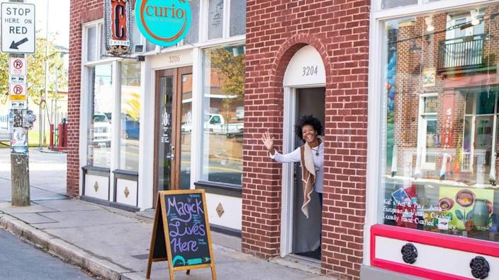 Curio Craft and Conjure, co-owned by Gina Spriggs, is reopening May 9.