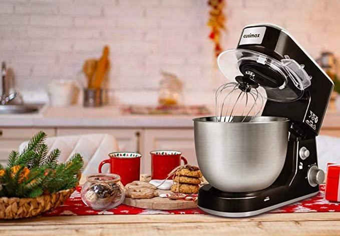 Save on the affordable Cusimax 5-Quart Stand Mixer. Image via Amazon.