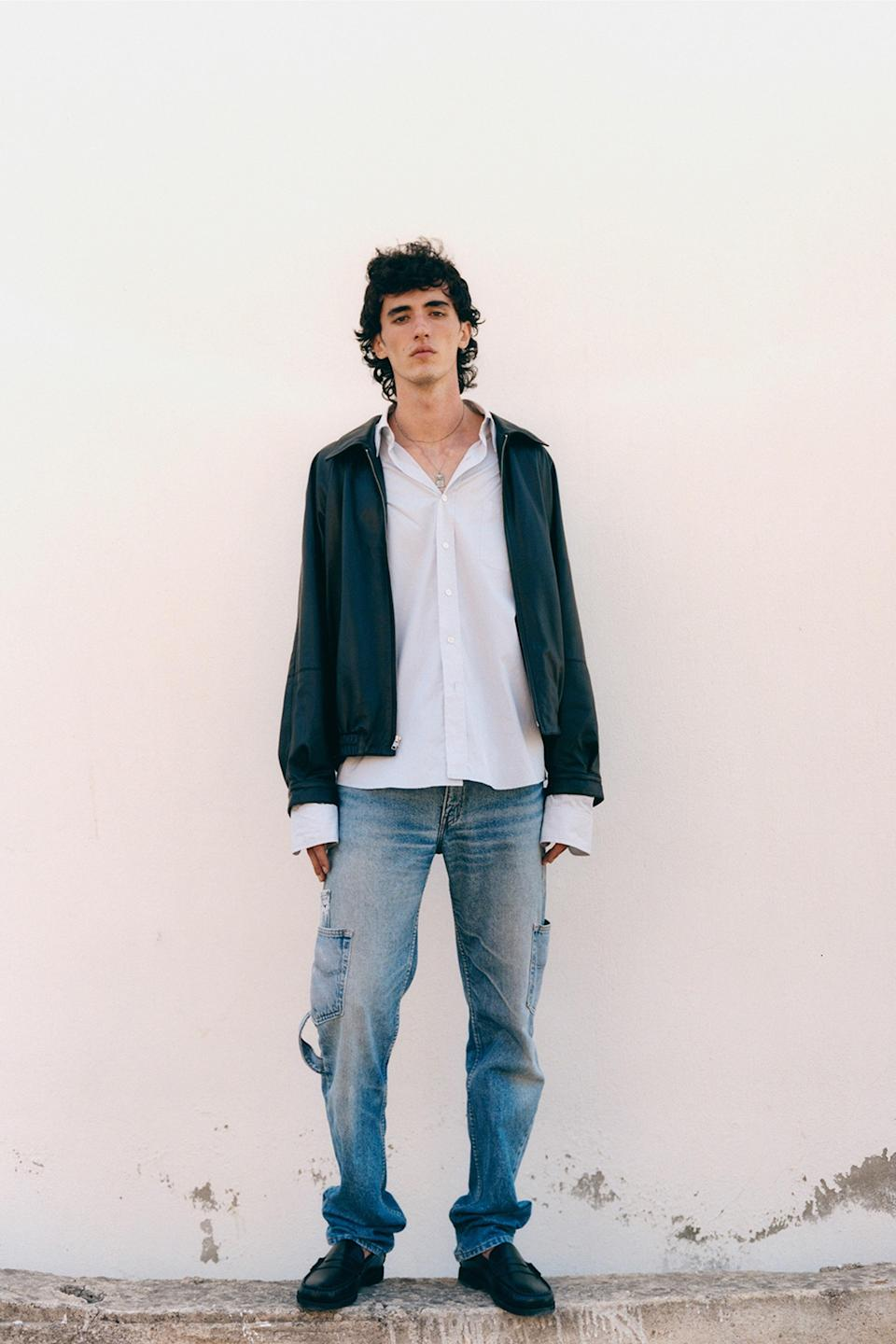 Pure ease from Maryam Nassir Zadeh's new menswear capsule.