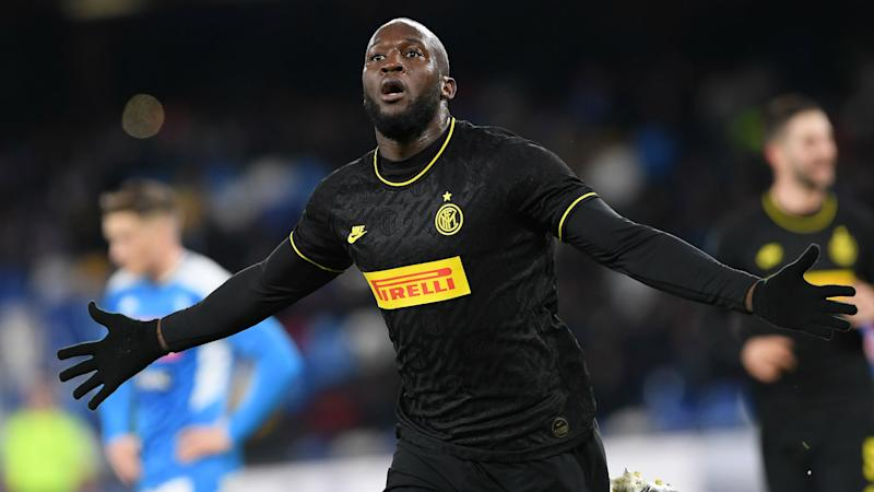 Napoli 1-3 Inter: Lukaku double ends 22-year wait for San Paolo success