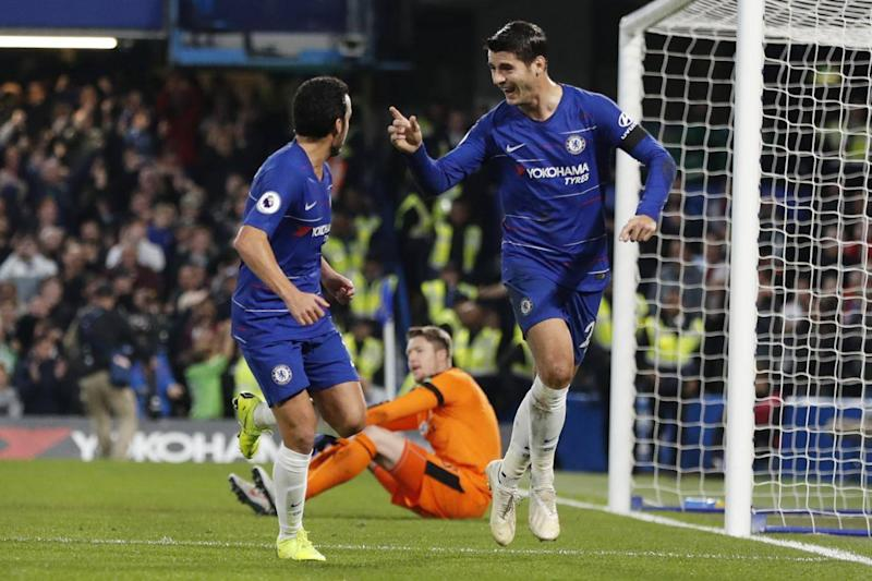 Alvaro Morata rediscovered his best form(AP)
