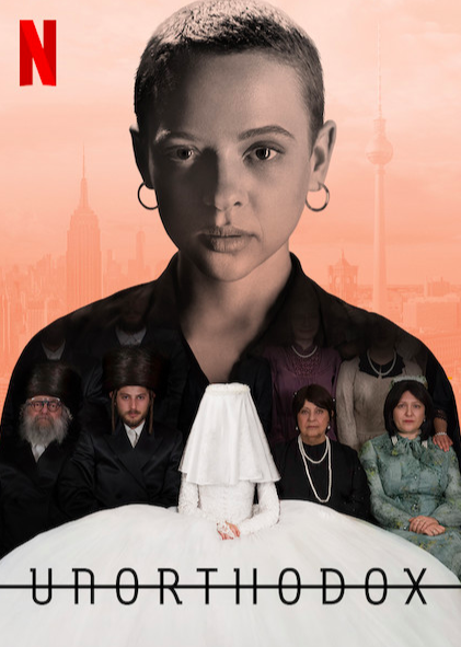 """This mini-series deals with a very young hispanic Jewish girl in Brooklyn, who runs away to Berlin from an arranged marriage situation. For me this show was a huge cultural shock as I had no idea the about the traditions and the customs of Hispanic Jewish community. The show is based on Deborah Feldman's 2012 memoir, <em>Unorthodox: The Scandalous Rejection of My Hasidic Roots </em>and shows what's it like to be raised in a strictly traditional, orthodox community of Judaism. You can watch the series on <a href=""""https://www.netflix.com/search?q=u&jbv=81019069&jbp=0&jbr=0"""" rel=""""nofollow noopener"""" target=""""_blank"""" data-ylk=""""slk:Netflix"""" class=""""link rapid-noclick-resp"""">Netflix</a>."""