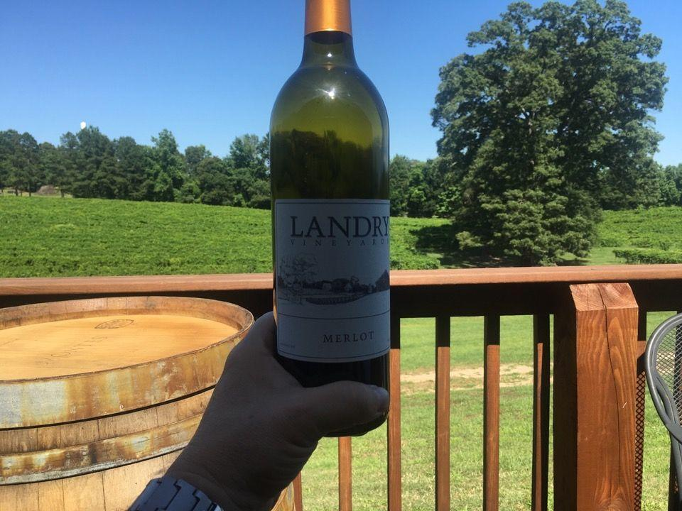 "<p><a href=""https://foursquare.com/v/landrys-vineyard/4c8c010b5e048cfa7ce4c8cd"" rel=""nofollow noopener"" target=""_blank"" data-ylk=""slk:Landrys Vineyard"" class=""link rapid-noclick-resp"">Landrys Vineyard</a> in West Monroe</p><p>""Fun winery. Landry's has great tasting, along with fun food, wine and music </p>"