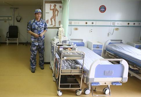 The Daishandao is used mainly in humanitarian missions. Photo: Reuters