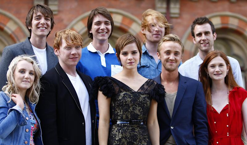 Harry Potter fans are freaking out over this cast reunion