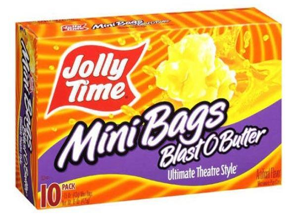 jolly time mini bags blast o butter, ultimate theater style