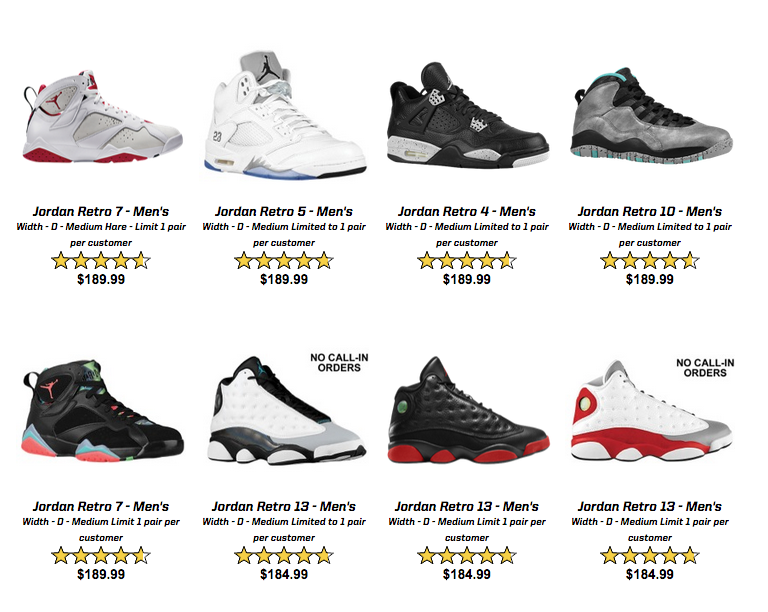 Eastbay Is Having a Massive Air Jordan Restock Tomorrow cc7051cc2