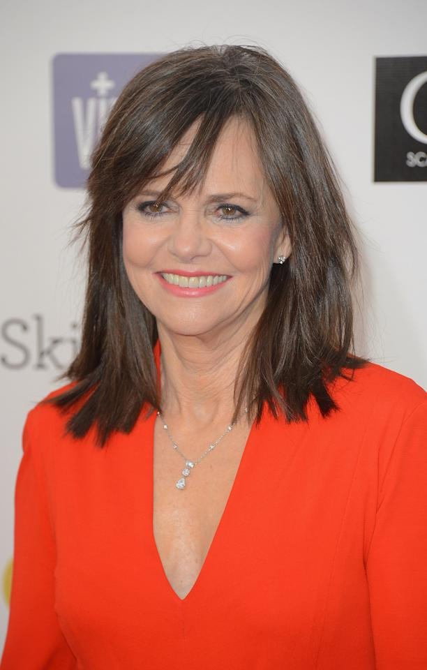 SANTA MONICA, CA - JANUARY 10:  Actress Sally Field arrives at the 18th Annual Critics' Choice Movie Awards at Barker Hangar on January 10, 2013 in Santa Monica, California.  (Photo by Frazer Harrison/Getty Images)