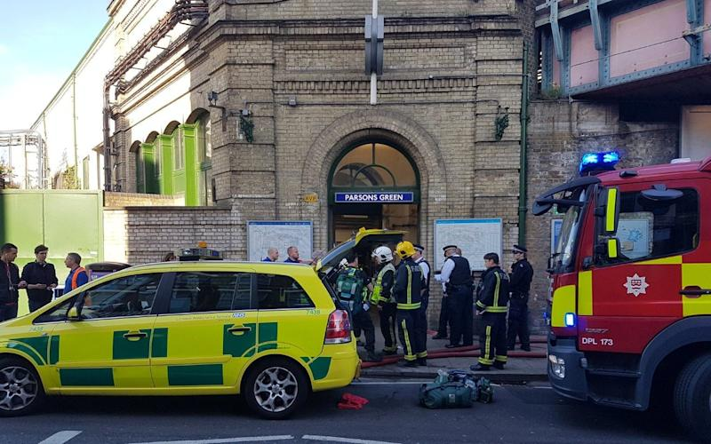 Police are treating the incident as a suspected terror attack - REUTERS