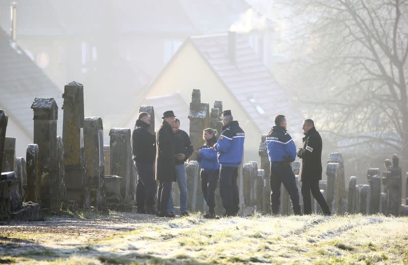 French lawmakers tackle anti-Semitism as Jewish graves desecrated