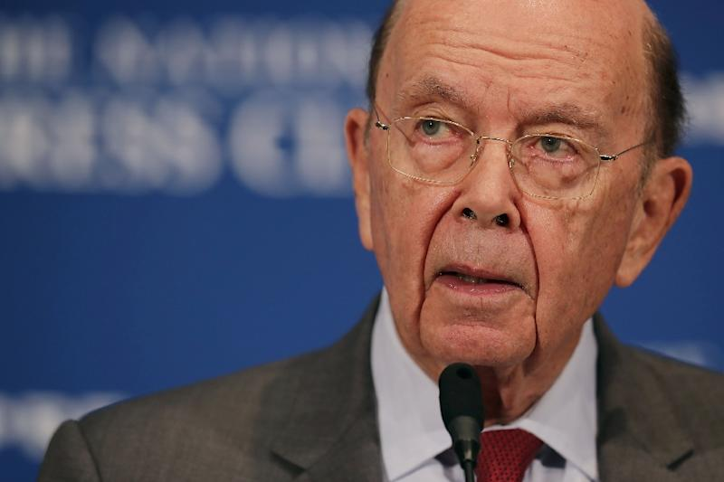 Commerce Secretary Wilbur Ross announced he initiated a so-called Section 232 investigation on auto trade, which would provide the legal basis to impose tariffs if his department finds imports threaten US national security (AFP Photo/CHIP SOMODEVILLA)