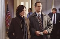 """<p>The pair played the partners — who worked in sync and always had each other's backs — for 12 years before Meloni <a href=""""https://people.com/tv/christopher-meloni-is-he-leaving-law-order-svu/"""" rel=""""nofollow noopener"""" target=""""_blank"""" data-ylk=""""slk:left in 2011"""" class=""""link rapid-noclick-resp"""">left in 2011</a> due to issues with contract negotiations.</p>"""