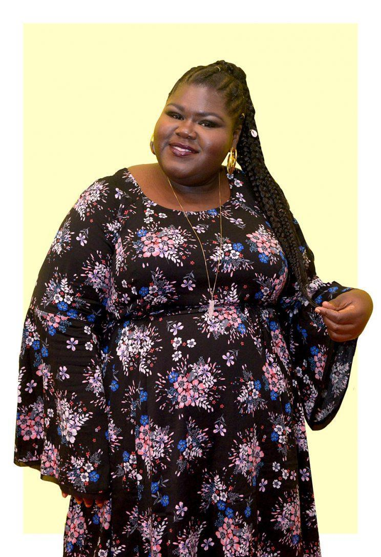 Actress Gabourey Sidibe has been rocking some chic and affordable outfits. (Photo: Getty Images)