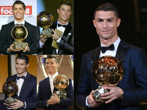 Cristiano Ronaldo has won the Ballon d'Or five times, with four coming while playing for Real Madrid