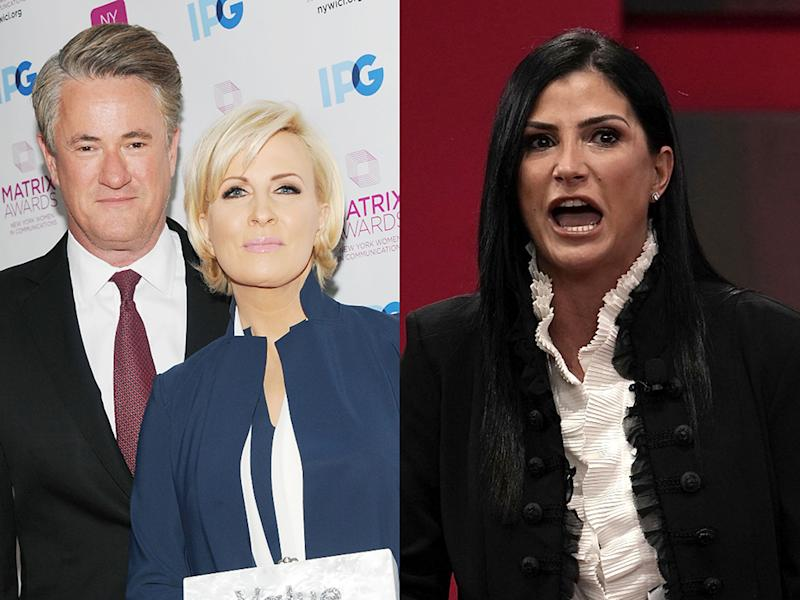 Joe Scarborough and Mika Brzezinski have accused Dana Loesch of making violent threats against them. (Photos: Getty Images)