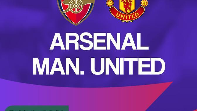 Premier League - Arsenal Vs Manchester United (Bola.com/Adreanus Titus)