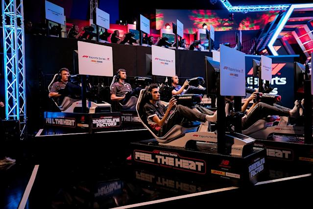 Ferrari's Tonizza dominates on F1 Esports debut