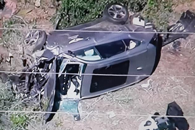 """Tiger Woods Injured In Los Angeles Car Crash, Extricated With """"Jaws Of Life"""""""