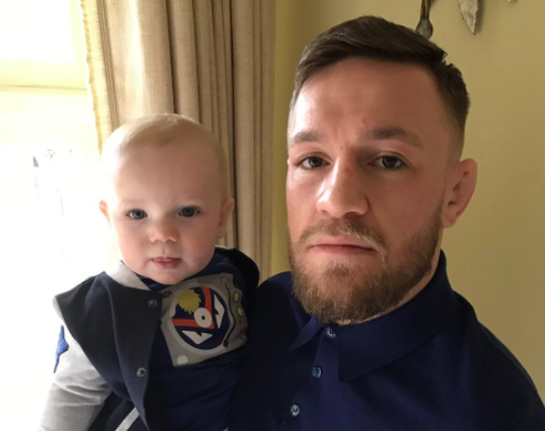 """Conor McGregor posted this picture on @thenotoriousmma on Tuesday afternoon with the caption """"F— the Mayweathers"""""""