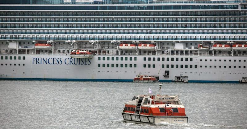 Grand Princess Cruise Ship Docked Off The Coast Of California After 21 Test Positive For Coronavirus