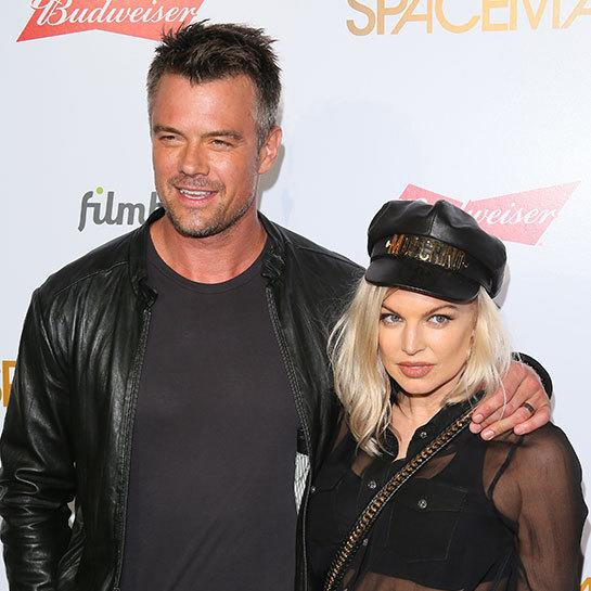 Fergie with Josh Duhamel