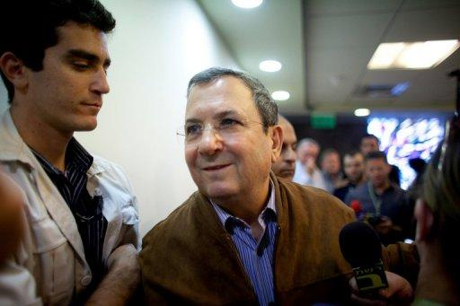 "Israeli Defence Minister Ehud Barak, pictured in April 2012, said it was crucial to act before Iran reached that point. ""It is impossible to sleep in peace when the Iranians are systematically moving towards the point after which Israel will not be able to do anything about it,"" he said"