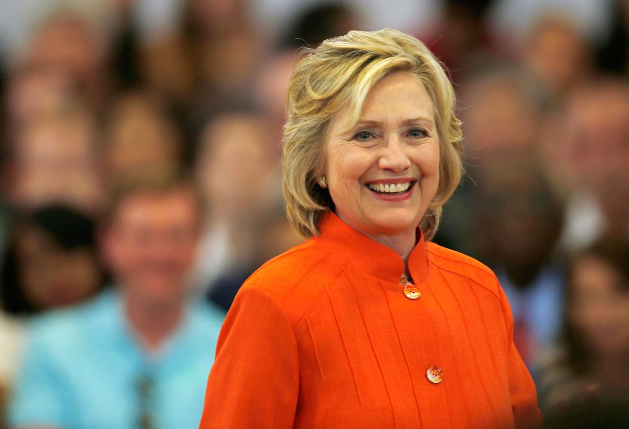 "<p><b>""You know, when I was secretary of state, I came out of that job I think with a 69 percent approval rating because I was in service to our country. I was in service to our president. I was proud to do it. But when a woman walks into the arena and says, 'I'm going for this myself,' it really does have a dramatic effect on how people perceive.""</b>  — Hillary Clinton, <a rel=""nofollow"">speaking about her presidential election loss</a>, on <i>Today</i></p>"