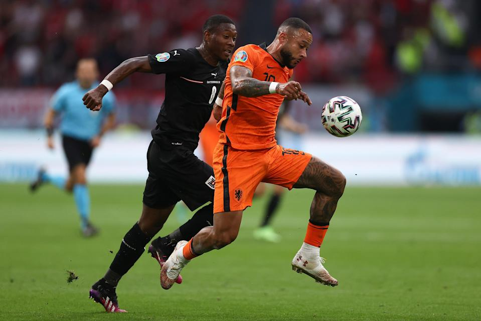 Memphis Depay played well against Austria (Getty Images)