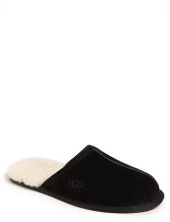 <p>He'll look forward to cold mornings when he can slip his feet into the <span>UGG Men's Scuff Slipper</span> ($80). </p>