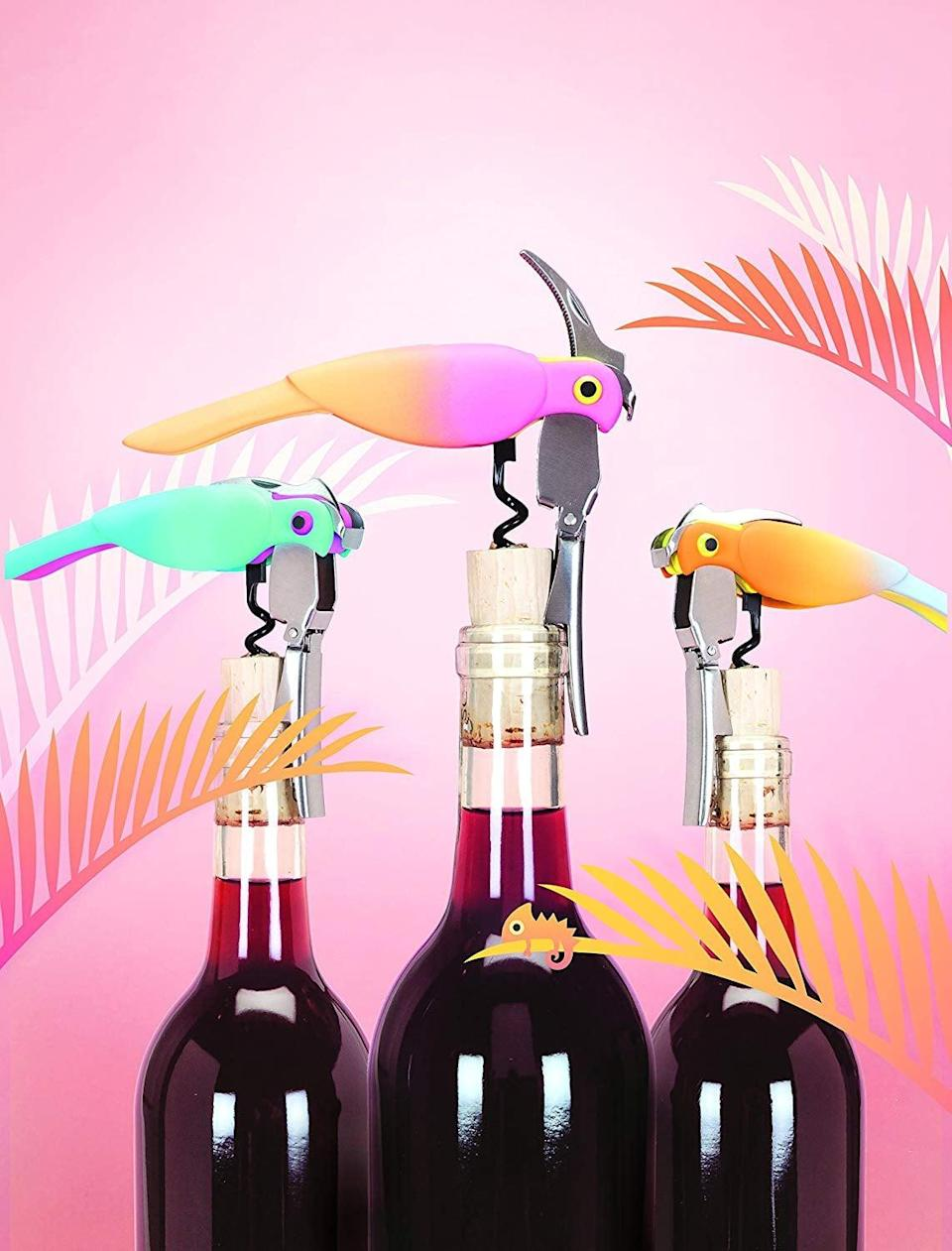 <p>These <span>True Zoo Corkatoo Corkscrews</span> ($14, originally $20) are so cute, they'll be at the center of every wine happy hour. The design is just so playful and clever.</p>