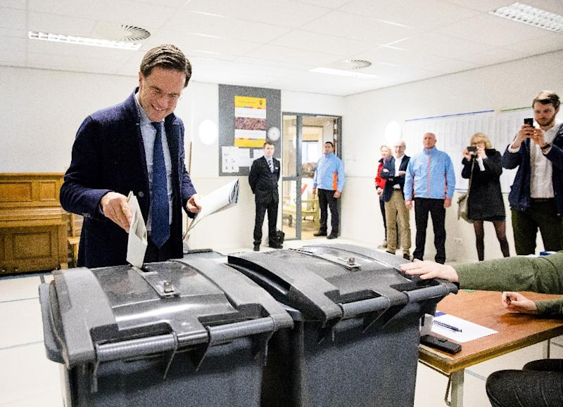 Dutch Prime Minister Mark  Rutte could now be left to rely on opposition parties to pass legislation after looking set to lose his senate majority