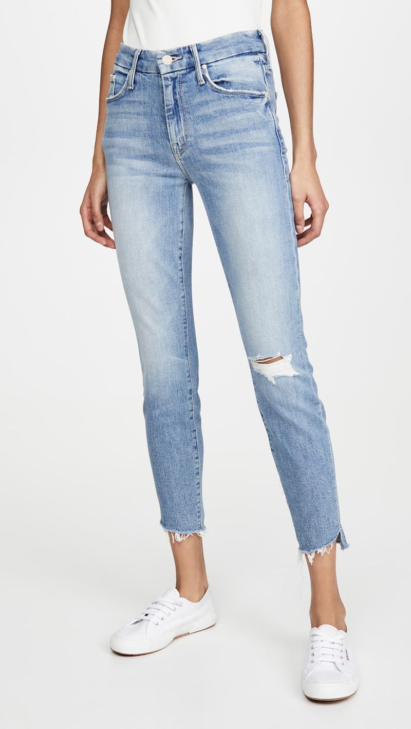 The Looker Ankle Step Fray Jeans. Image via Shopbop.