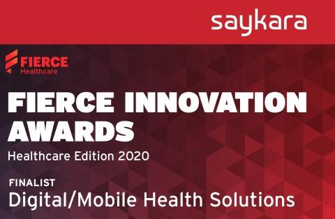 Saykara named Fierce Innovation Awards finalist for mobile AI assistant that automates physician charting